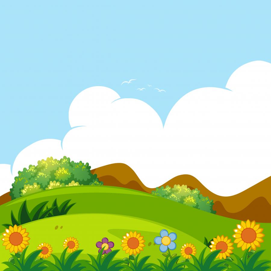 Векторное изображение - пейзаж