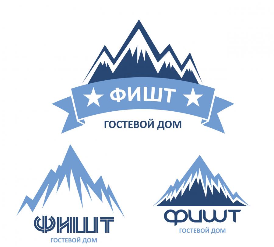 Логотип гостевого дома в горах Адыгеи